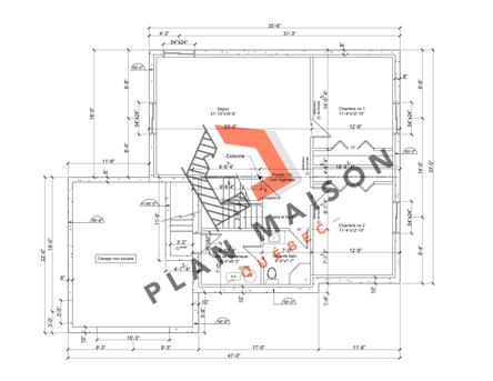 plan de maison constructeur 5