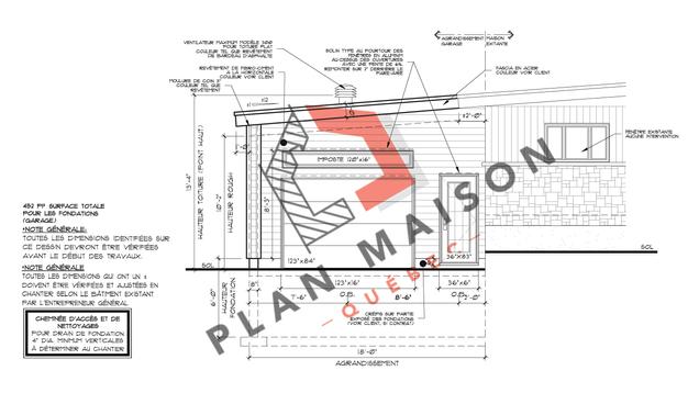 plan detaille maison 1