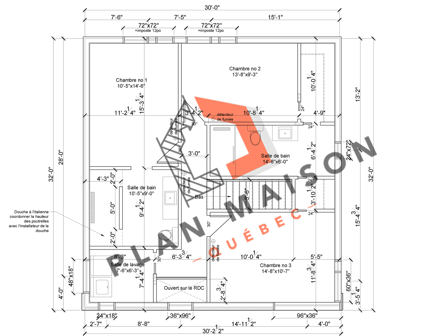 plan amenagement interieur maison 4