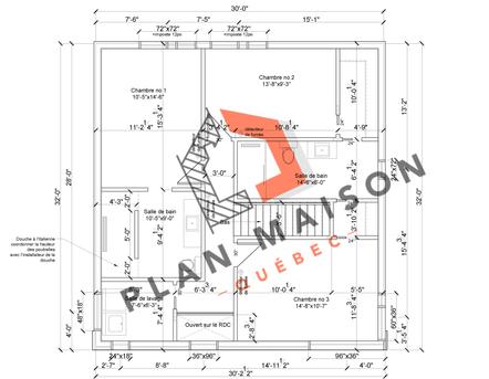 plan amenagement interieur maison 4
