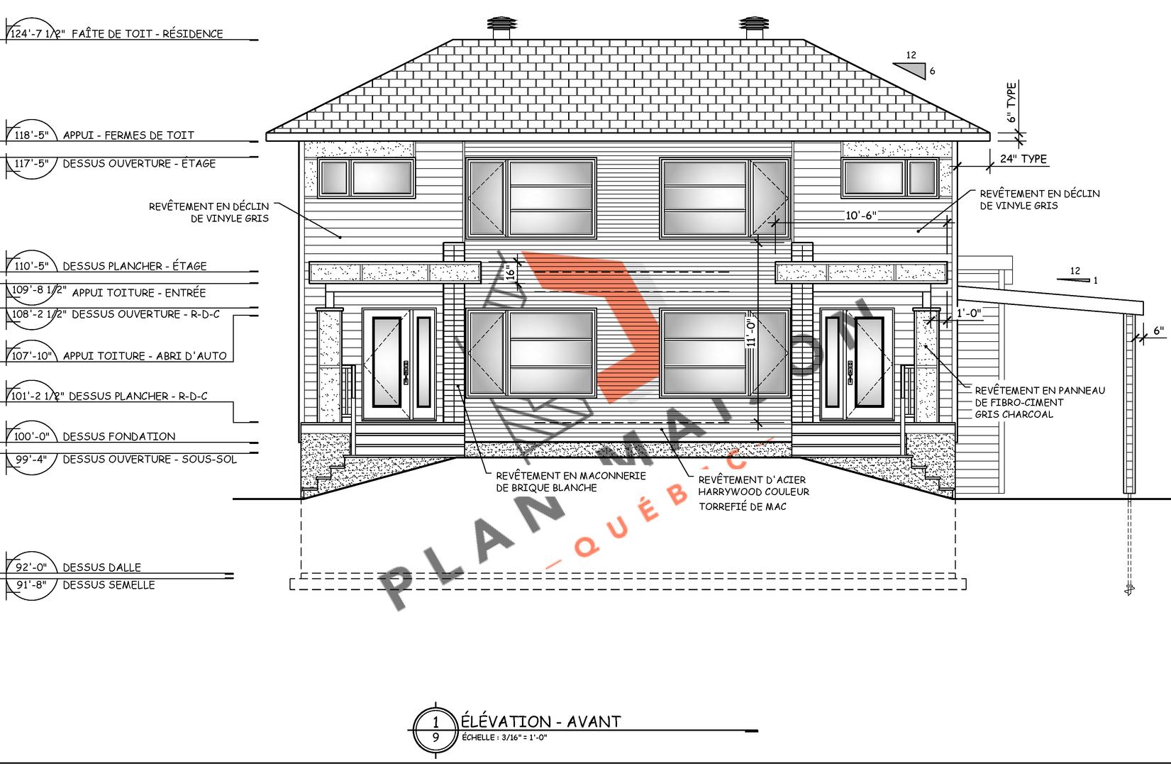 plan pour maison 1