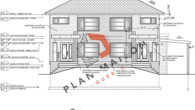 Plan pour maison