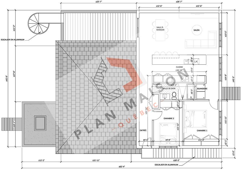 Plan de construction appartement