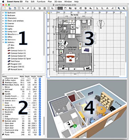 Sweet home 3D | créer votre plan de maison | Essentiel Architecture | Québec