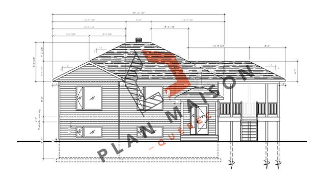 Plan de maison plain pied