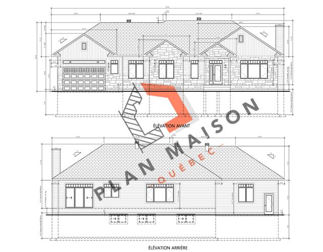 Construire Sa Maison Plan Plan Maison Quebec Technologue Et Plan De Maison