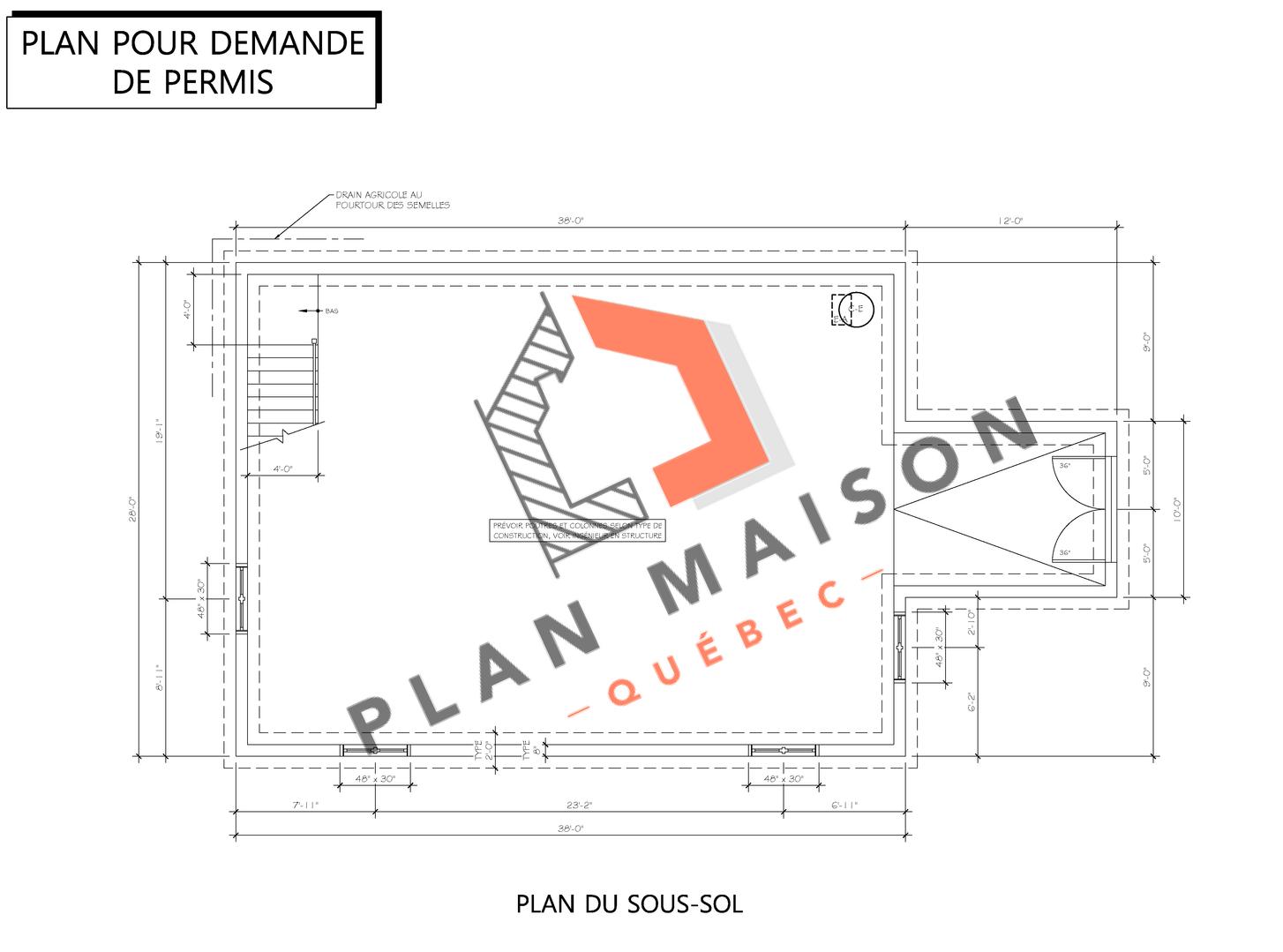 plan de construction 6