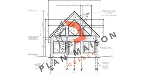 Plan pour construction