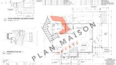plan extension maison 6