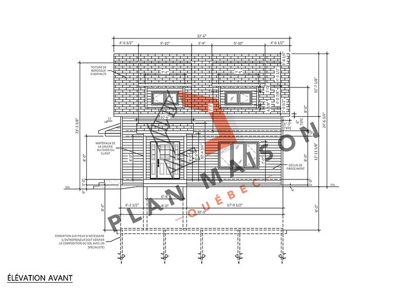 Plan maison sur mesure