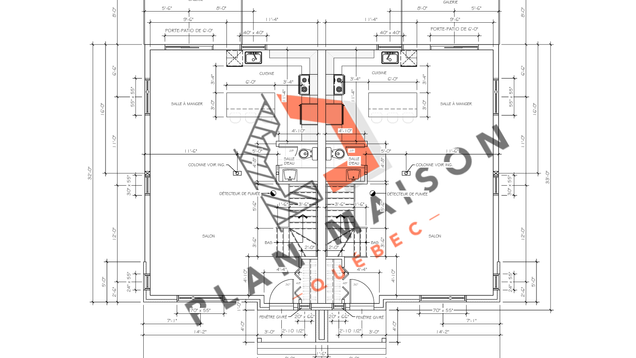 plan maison constructeur 6