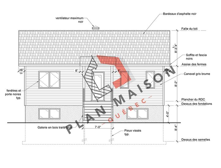 construire une maison plan