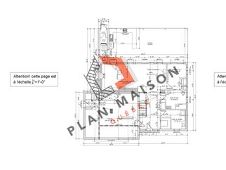 plan maison moderne 6