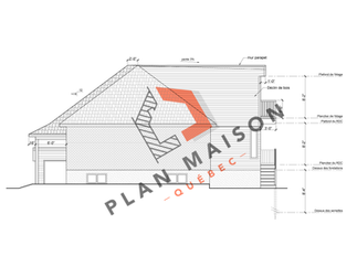 technicien en architecture plan de maison 7