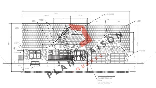 Création plan maison