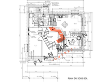 plan construction maison plain pied 1