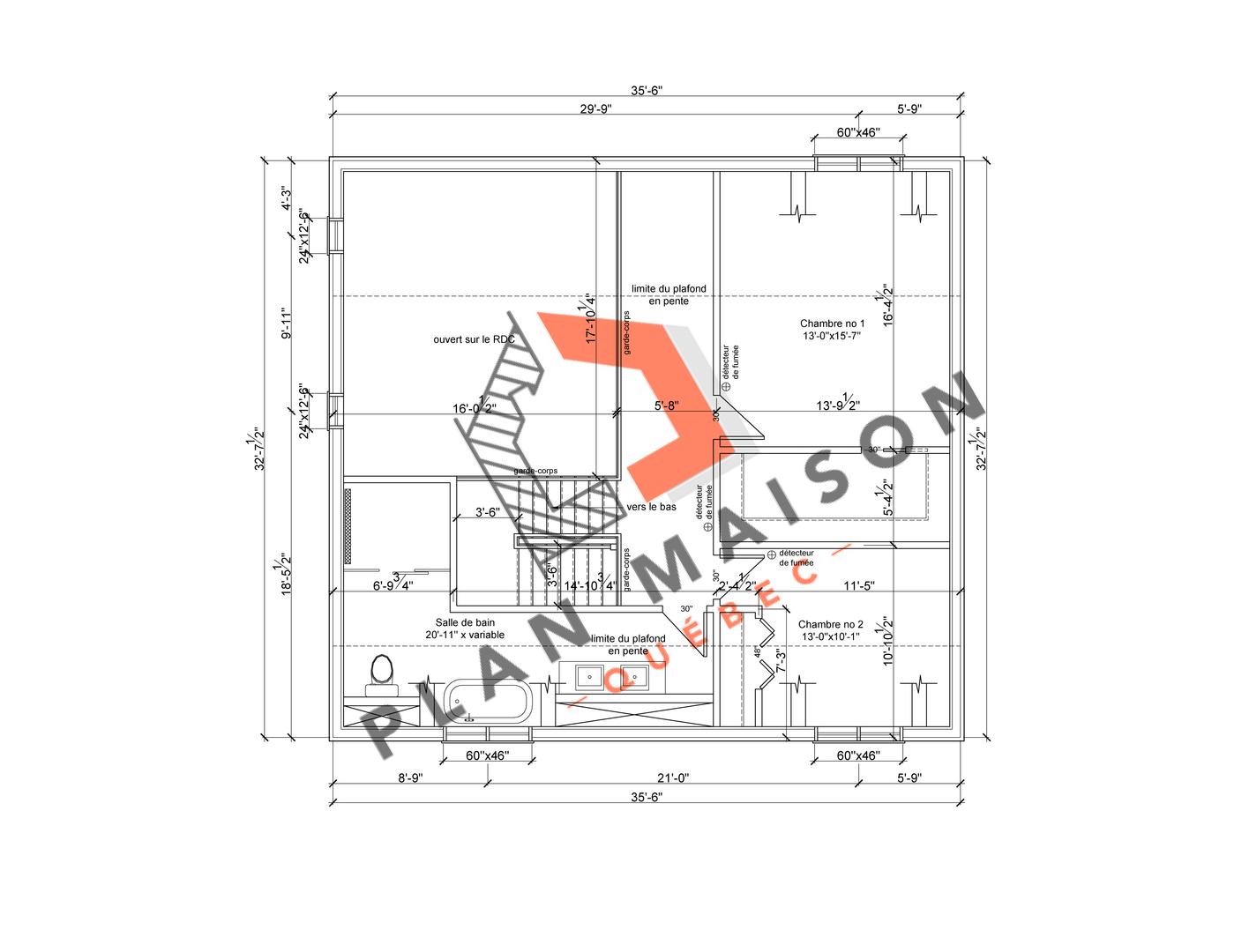 plan de maison constructeur 7
