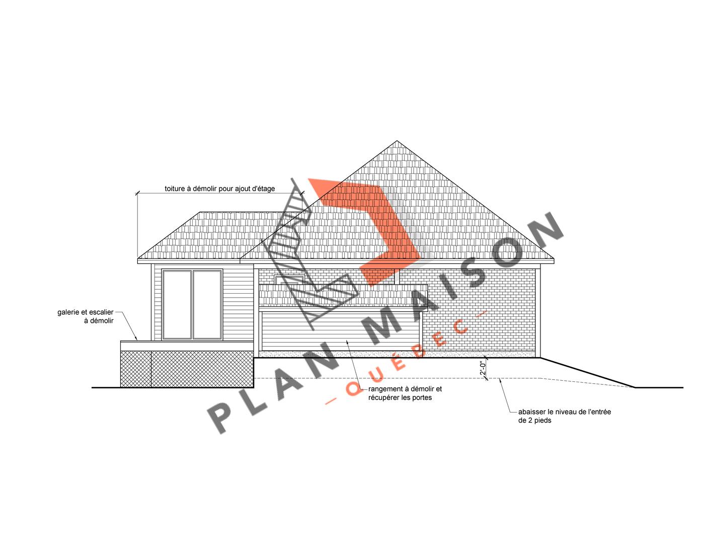 technicien en architecture plan de maison 4
