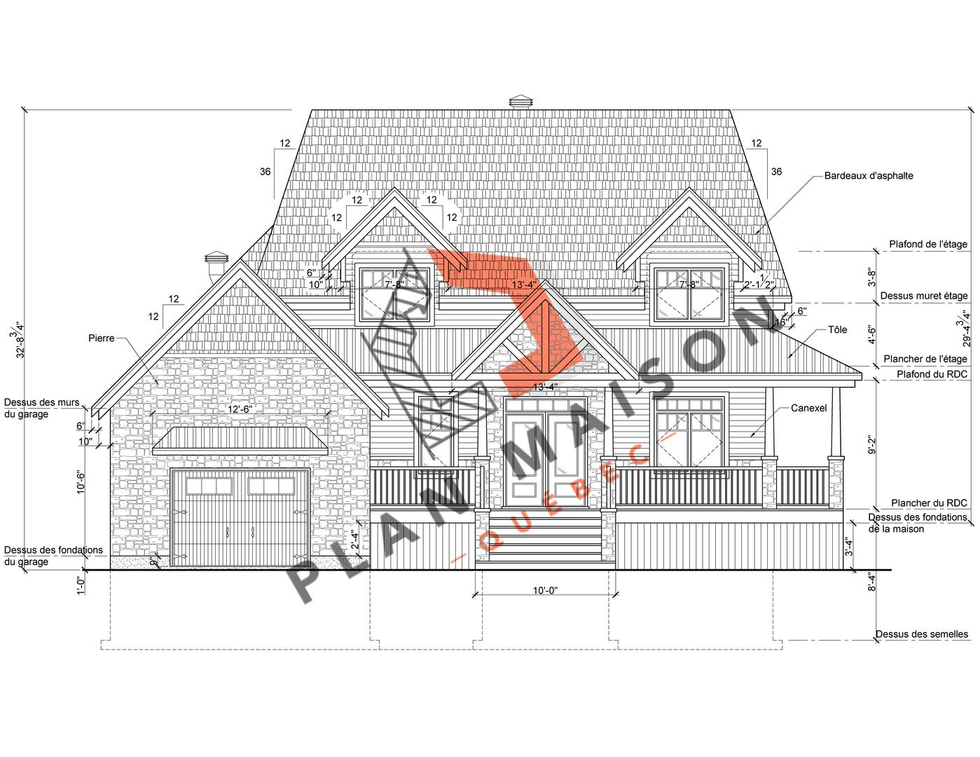 plan de maison constructeur 1