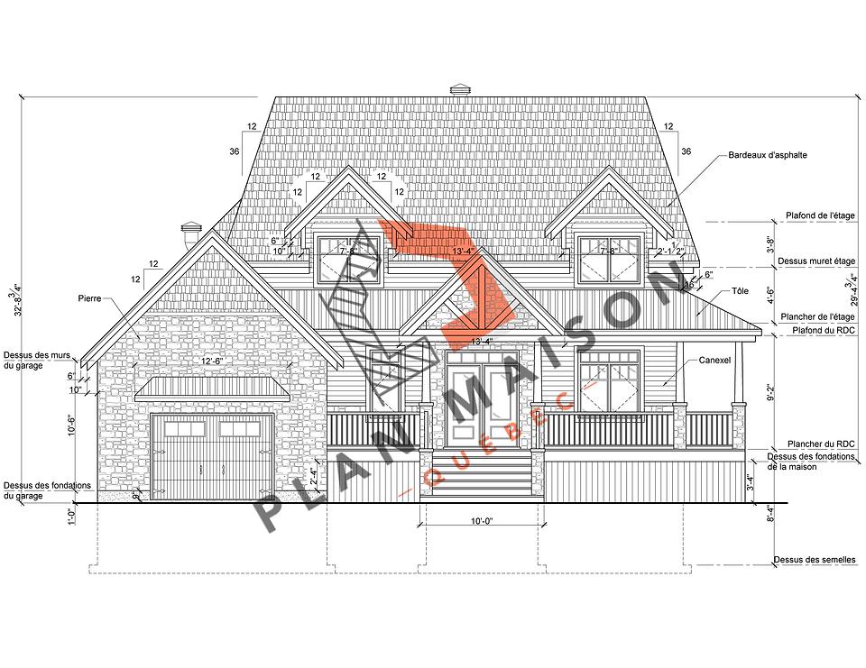 Plan de maison constructeur