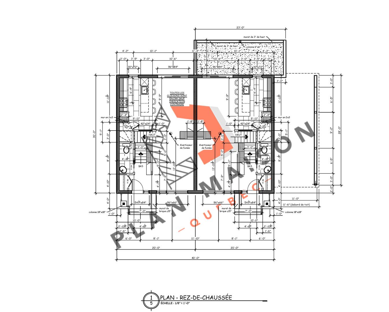 plan pour maison 6