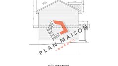 plan maison etage 9