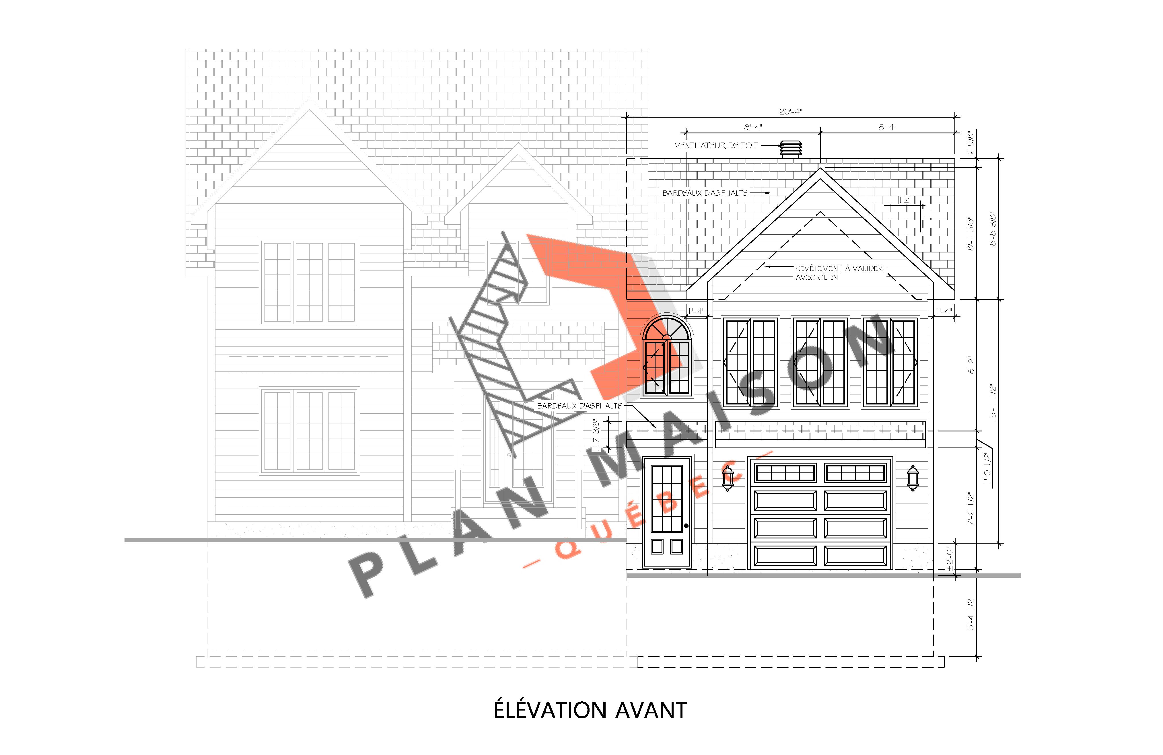 Plan Agrandissement Maison Plan Maison Quebec Technologue Et Plan De Maison