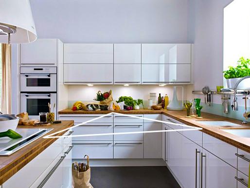 Le triangle d'activité dans la cuisine: la clé d'une cuisine efficace
