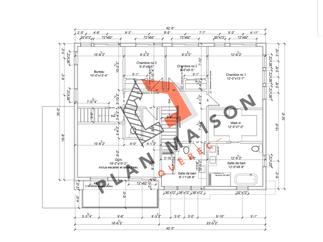 plan maison moderne 8