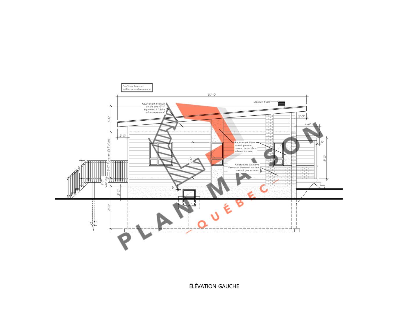 plan maison constructeur 4