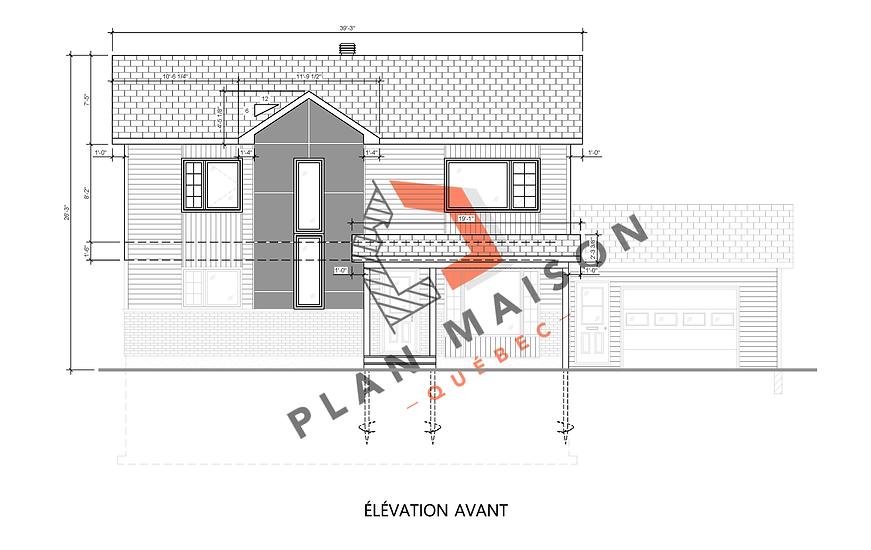 plan maison etage