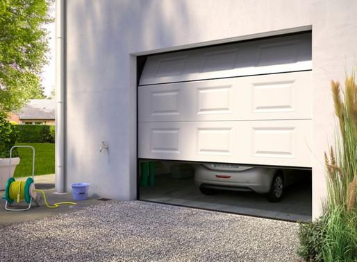 La serrure de porte de garage