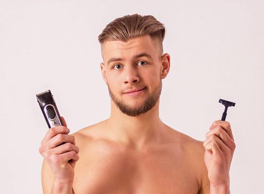 Rasage des parties intimes des hommes : rasoir ou rasoir électrique?