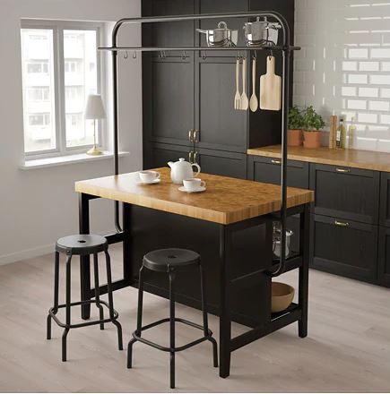 Ikea Pose Cuisine L Ilot De Cuisine Le Centre D Attention