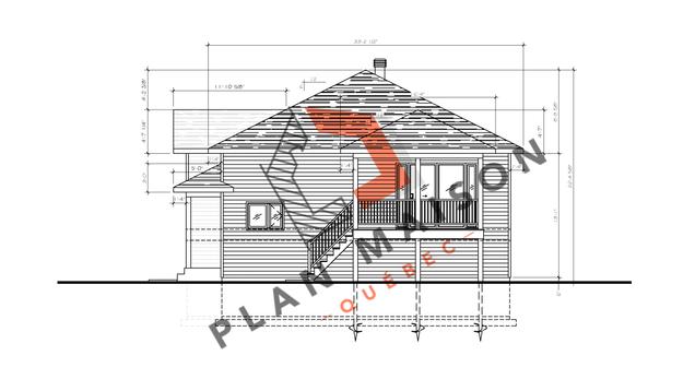 plan de maison plain pied 4