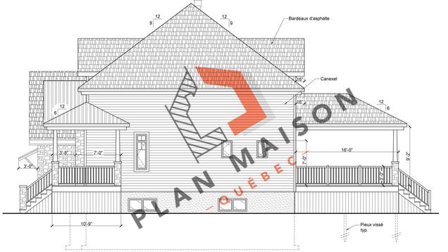 plan de maison constructeur 4