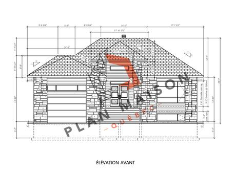 plan de maison sur mesure 1