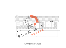 agrandissement maison plan 1