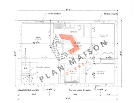plan amenagement maison 10