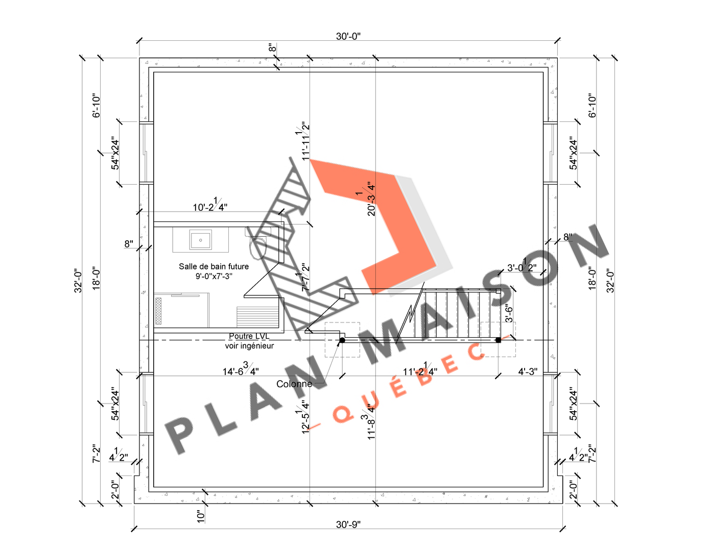 plan amenagement interieur maison 6