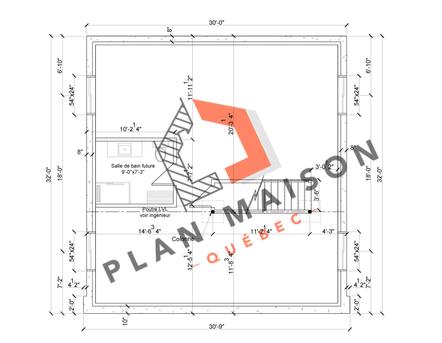 plan amenagement interieur maison 6