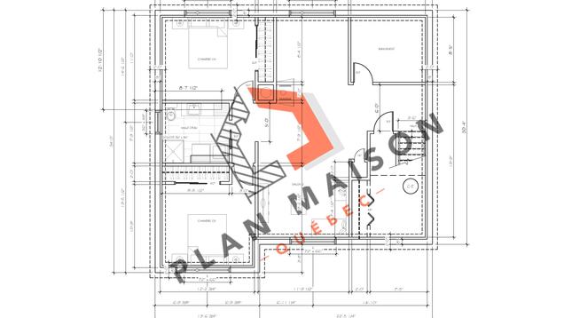 plan de maison plain pied 5