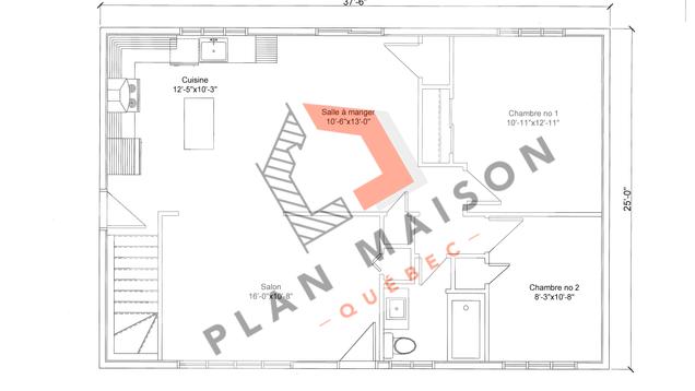 plan amenagement maison 5
