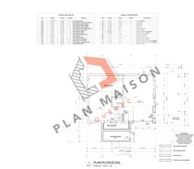 plan extension maison 8
