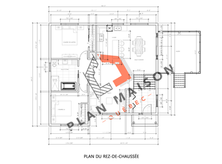 plan de maison plain pied 6