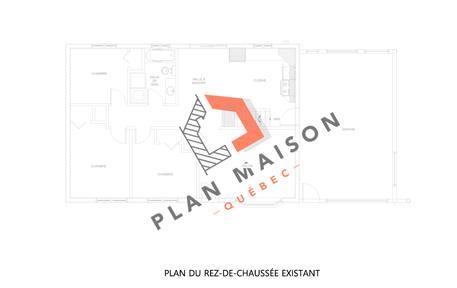 plan maison etage 6