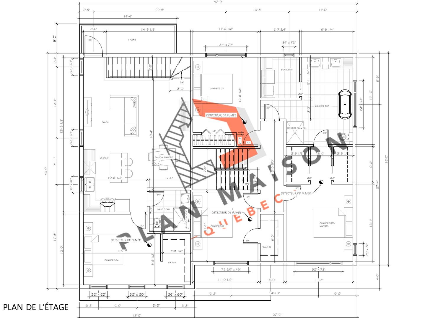 plan de construction de maison 5