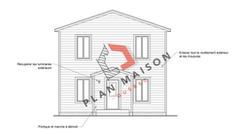 plan de maison facade 1