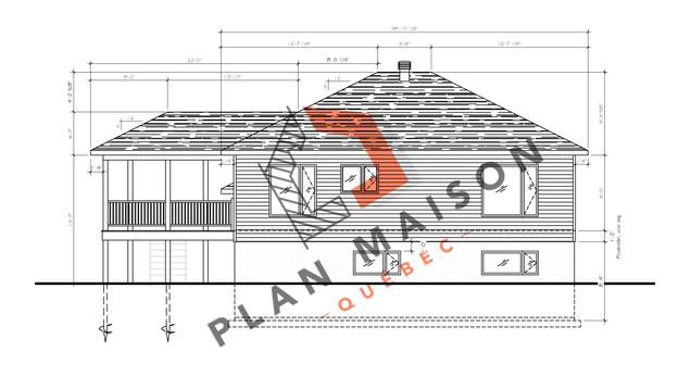 plan de maison plain pied 3