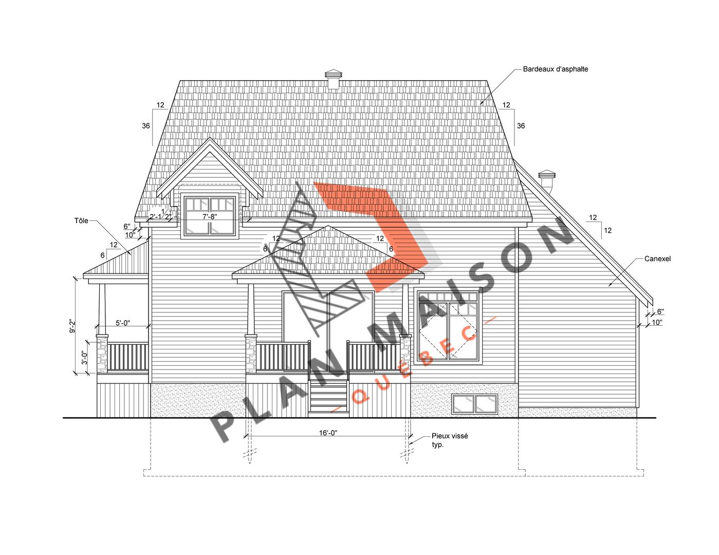plan de maison constructeur 3